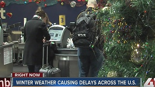 Winter weather causing delays across the U.S. - Video
