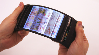 Flexiphone 'Coming Soon': Scientists Reveal First Bendable Smartphone - Video