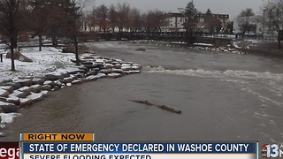 Northern Nevada braces for severe flooding - Video