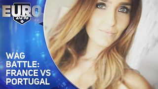 Wag of the Week: Euro 2016: France vs. Portugal - Video