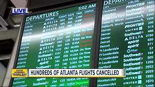 Power outage at Atlanta airport cause major delays, cancellations at Tampa International Airport - Video