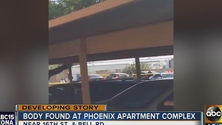Body found at Phoenix apartment complex