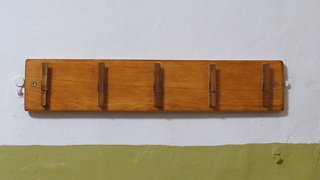 DIY, Holder for kitchen towels made from wood palette