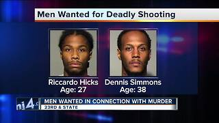 Two wanted for deadly State Street shooting - Video
