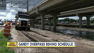 Gandy Blvd. construction delayed - Video