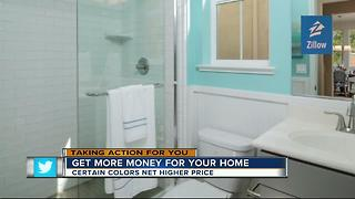 Zillow: Certain colors bring sellers more money - Video