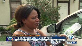 Child's relative speaks about 12-year-old being shot - Video