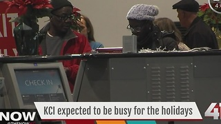 KCI expected to be busy for the holidays - Video