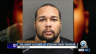 TSA agent arrested at Orlando airport - Video