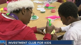 Local church holds investment club for kids - Video