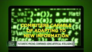 Futuristic pricing, companies using artificial intelligence - Video