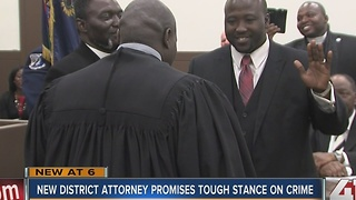 Mark Dupree takes over as Wyandotte County district attorney - Video