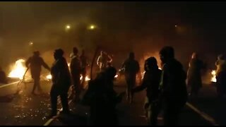 SOUTH AFRICA - Cape Town-N2 is closed inbound due to protest action.(Video) (cHF)