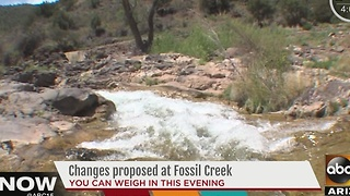 Changes considered at Fossil Creek - Video