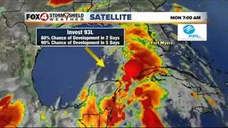 TROPICS UPDATE: Invest 93L entering the southern Gulf - Video