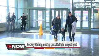 Hockey Championship puts Buffalo in spotlight - Video