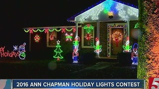 2016 Ann Chapman Holiday Lights Contest: Finalist #3 - Video
