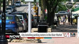 River Market to test parking meters - Video