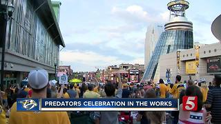 Nashville Plans Preds Party - Video