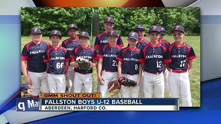 The Fallston Boys U-12 baseball team says Good Morning Maryland