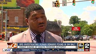 Police investigating after man found dead in Baltimore - Video