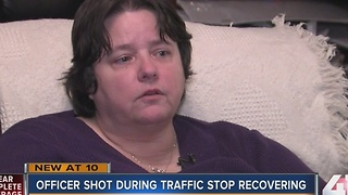 KCPD officer's widow speaks on police shootings - Video