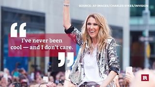 Celine Dion quotes to live by | Rare People - Video