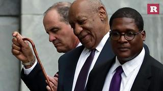 Bill Cosby's wife Camilla joins him as he starts the second week court | Rare People - Video