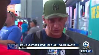 Fans gather for MBL All Star Game - Video