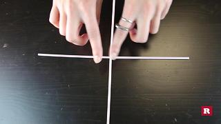 Make a square with one move | Bar Tricks - Video