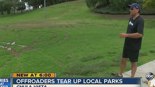 Offroaders tear up local parks