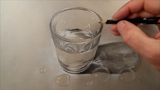 How to Draw Glass of Water - Rumble