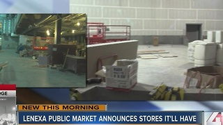 Businesses at Lenexa Public Market announced - Video