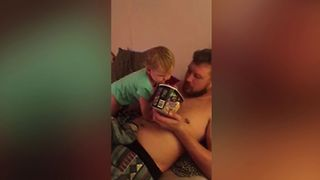 Baby Can't Get Enough of Ice Cream - Video