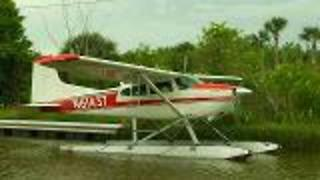 Seaplaning in Tavares, FL - Video