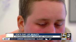 Zoe's Day of Beauty