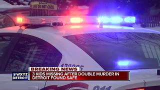 Man, woman shot, killed inside home on Detroit's east side, kids found safe - Video