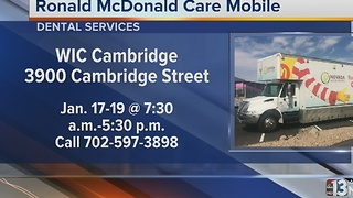 Ronald McDonald Care Mobile providing dental care to Las Vegas-area children - Video