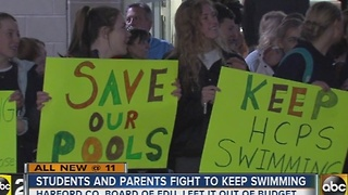 Parents and students fight to save swimming programs at Harford County Public Schools - Video