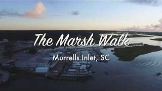 Beautiful Footage Shows Sunrise Over Murrells Inlet, South Carolina - Video