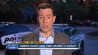 Parents kids shoplifting 2 - Video