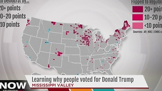 Learning why people voted for Trump - Video