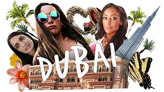 Two Sisters Explore Dubai, Compile This Cute Video - Video