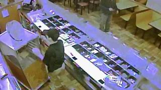 RAW VIDEO: Authorities seek armed robbers - Video