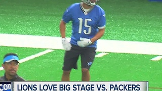 Lions love the big state vs. Packers - Video
