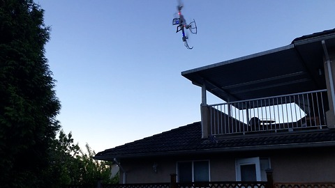 Guy Learning To Fly Drone the Hard Way