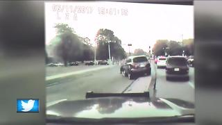 Dash cam video from lakefront incident released - Video