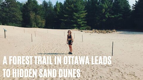 This 3.2-km Forest Trail In Ottawa Leads To Hidden Golden Sand Dunes