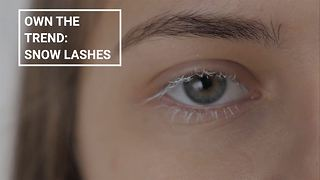 Winter make-up looks: Snow lashes - Video