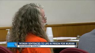 Wisconsin woman gets life in prison for killing husband